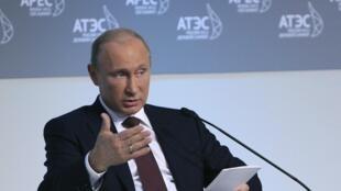 Владимир Путин на саммите АТЭС во Владивостоке 07/09/2012